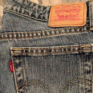 Women's Levi's 9 L super low boot cut